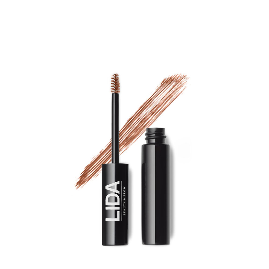lida beauty brow fiber gel & tint